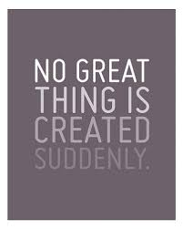 No great thing..